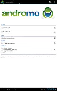 Andromo Sample screenshot 14