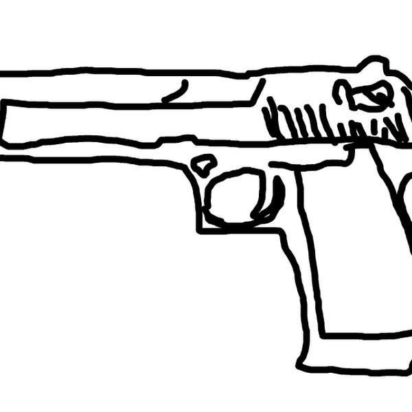 OMG... A GUN?!/! » drawings » SketchPort