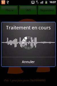 SMS parlant francais screenshot 5