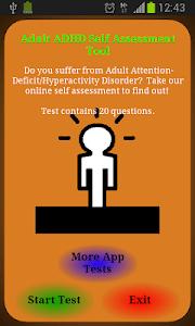 Adult ADHD Test screenshot 0