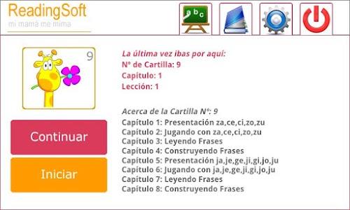 Curso 9 Aprender a Leer screenshot 0
