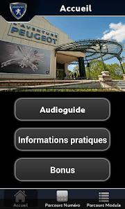Musée de l'Aventure Peugeot screenshot 0