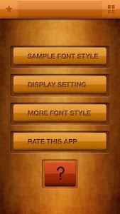 Free Fonts 3 screenshot 0