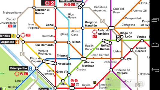 Madrid Metro Map screenshot 0
