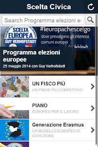 Scelta Civica screenshot 0