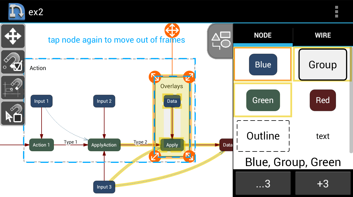 hight resolution of nodescape pro diagram tool