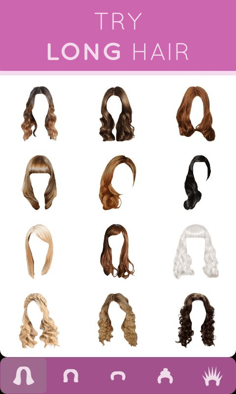 Hairstyle Mirror Try On Live Android Apps On Google Play