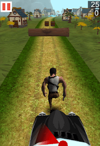 Village Freak Run 3D screenshot 1