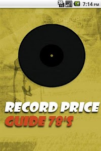 Vinyl Record Price Guide 78's screenshot 0