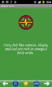 Health Facts screenshot 1