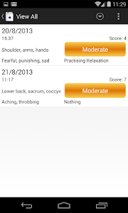 Chronic Pain Diary screenshot 1
