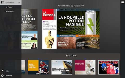 La Presse+ screenshot 0
