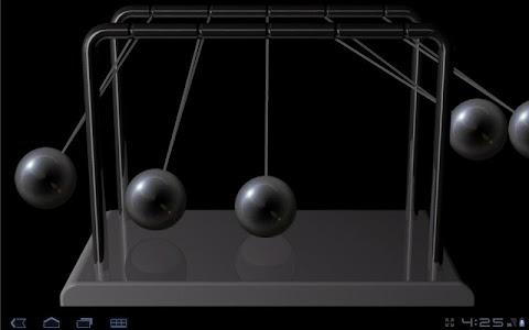 Newton's cradle screenshot 1
