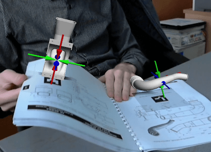 AR CAD - MagicBook screenshot 1