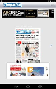 L'Impartial journal screenshot 10
