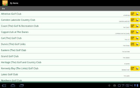 Golf Course Guide Aust Edition screenshot 8