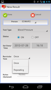 EZ Health Tracker Plus screenshot 2