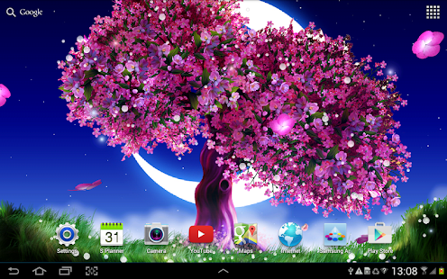 Sakura Falling Live Wallpaper Apk Cherry Blossom Live Wallpaper For Pc Windows 7 8 10 And