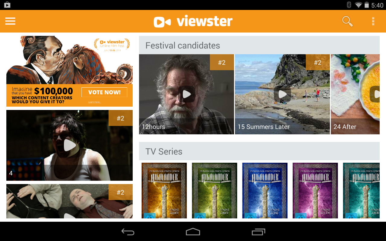 Viewster  Movies TV  Anime  Android Apps on Google Play