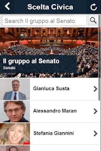 Scelta Civica screenshot 1