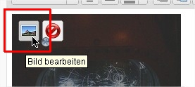 Screenshot WordPress Bildeigenschaften öffnen