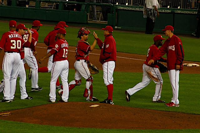 High Fives After the Game