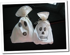 spooky treat bags
