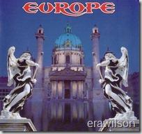 Europe - Capa