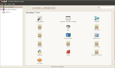 ubuntu software center category ubuntu 10.10 maverick meerkat screenshots