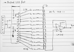 Nuts about Electronics: Making a 12-bit Serial DAC