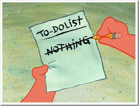 Image result for to do list nothing cartoons