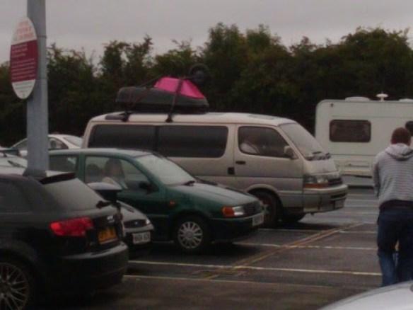 Pink Wheelbarrow