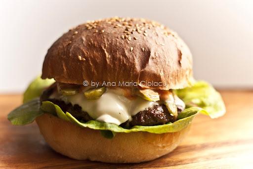 Hamburgeri facuti in casa