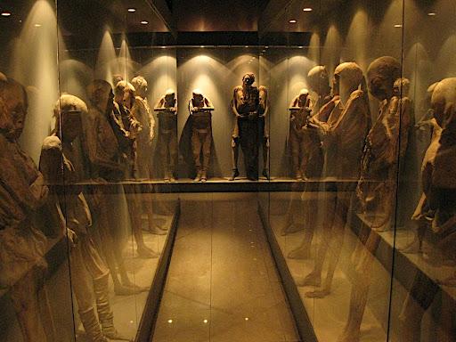 EL nuevo museo de las momias
