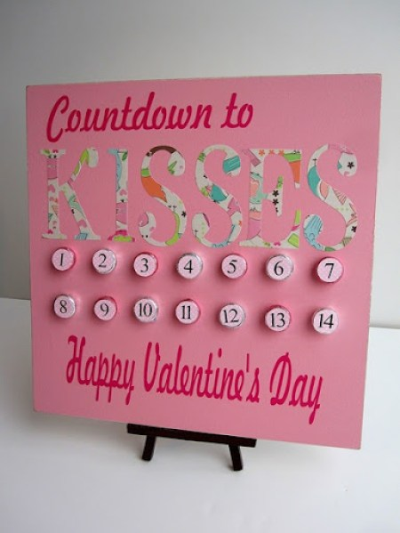 valentine's day advent calendar