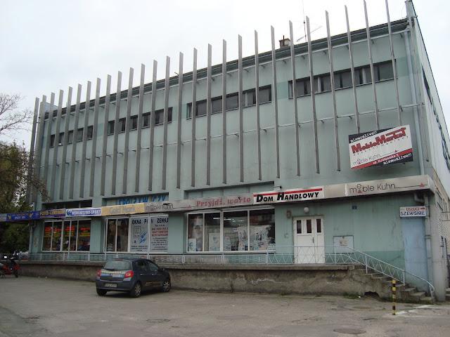 Nowoczesna architektura handlowa - centrum Człuchowa