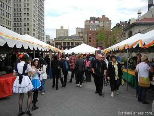 Annual Asian Culture celebration at Union Square, 2011.