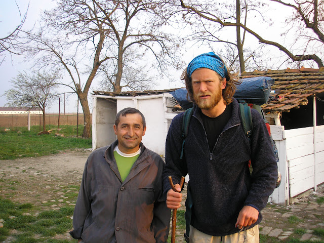 This is Alin, my first Romanian friend, who stole €30 from my tent. Poor old Alin.