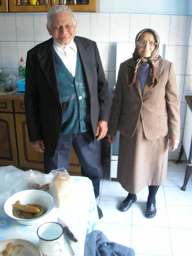 The couple from the Pentecostal church who gave me dinner