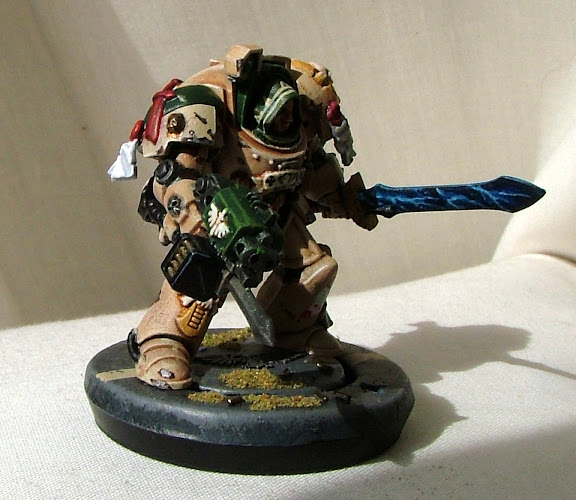 Etan, sergent of 2nd squad, First Chapter of the Dark Angels, Deathwing
