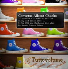 Icon pack Converse Allstar