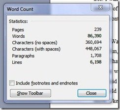 word count 20100508