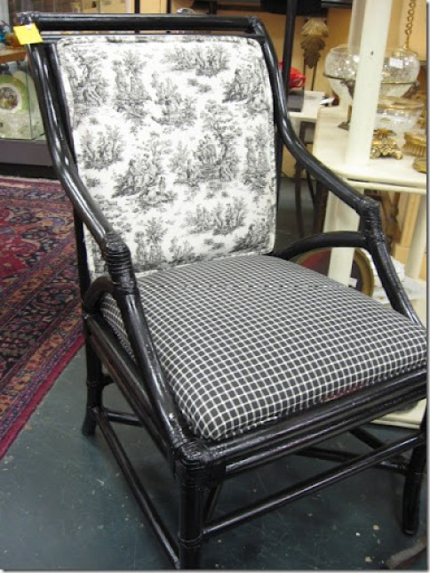 Toile chair