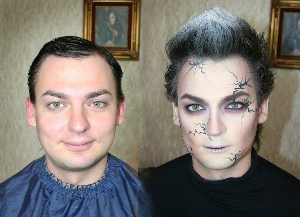 makeup before after vandreev 8 - 13 Fotos de maquiagem incríveis antes e depois