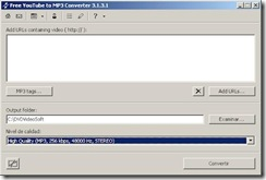 screenshot Free YouTube to MP3 Converter
