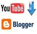 imagem youtube e Blogger