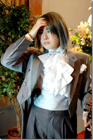 onegai my melody cosplay - hiiragi keiichi