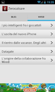 Zero Calcare screenshot 1
