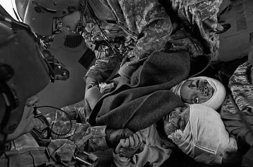 Medevac in Afghanistan -JAMES NACHTWEY FOR TIME