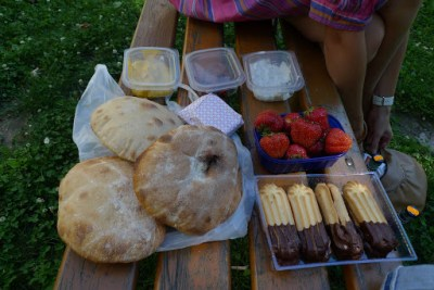 more 6 year anniversary picnic food